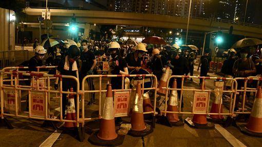 香港,反送中,中資機構,改聘陸人,施壓(圖/中通社)中央社