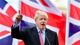 英國首相強生4日在保守黨聲明中表示,如果贏得12日的大選,將於2020年元月底完成脫歐。(圖取自facebook.com/borisjohnson)