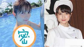 桃月梨子正式以寫真女星之姿進軍娛樂界。(圖/翻攝自日網)