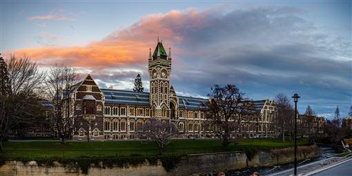 ▲紐西蘭最古老的大學─奧塔哥大學(圖/shutterstock.com)