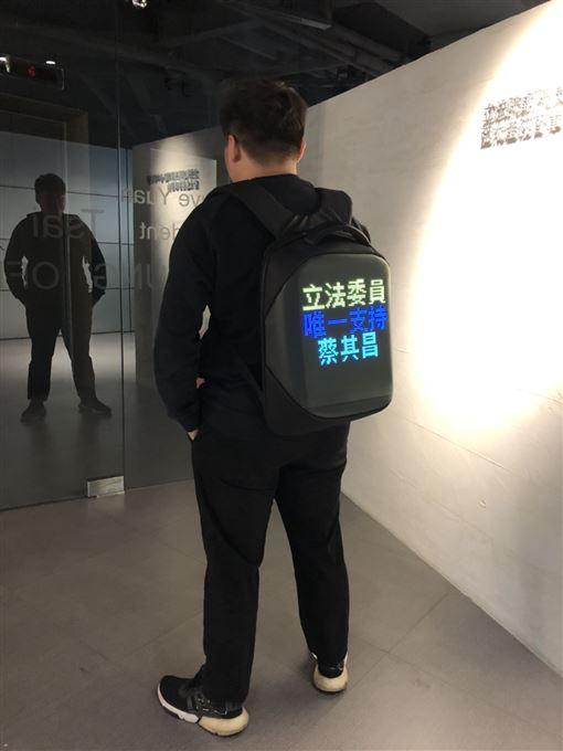 台中,宣傳,背包,LED