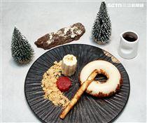 李宛儒居樂堂甜舖精緻甜點。(記者邱榮吉/攝影)
