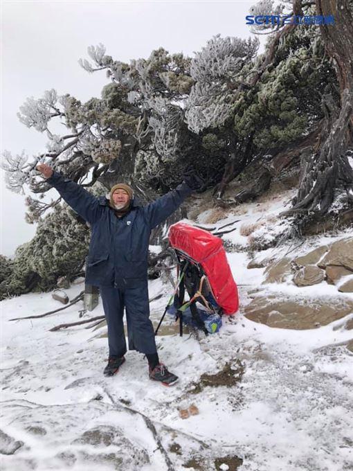 20191206南湖大山下初雪