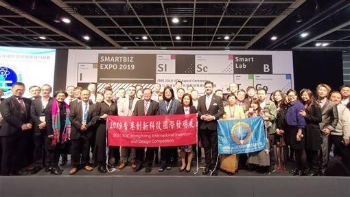 香港國際發明展,台灣,總成績,排名,第2(圖/中央社)