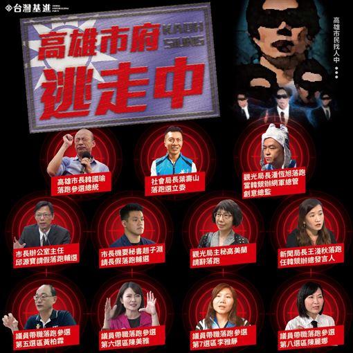 高雄市府官員頻請辭 圖/翻攝自台灣基進臉書
