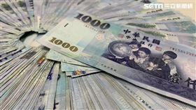 台幣,新台幣,千元大鈔,鈔票,錢,金錢,示意圖。(圖/資料照)