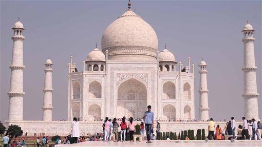 印度,泰姬瑪哈陵,遊客成長,進帳,近9億(圖/中央社)