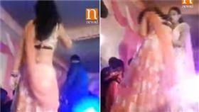 影/女舞者婚宴性感熱舞!停下竟秒被子彈轟臉…驚悚畫面曝(圖/翻攝自YouTube)