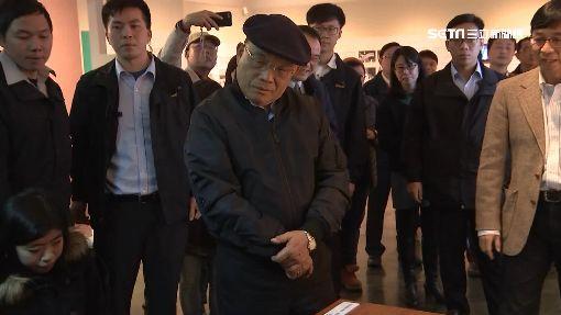 蘇揆病後復出 赴人權博物館「緬懷變驗收」