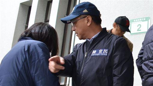 國民黨團衝外交部,陳宜民,女警,立法院國民黨團提供