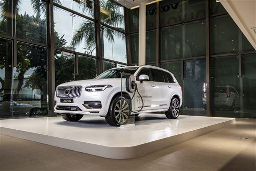 ▲2020世界新車大展Volvo展出小改款XC90。(圖/Volvo提供)