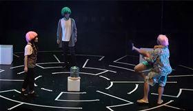 昨晚《阿飛夕亞》在兩廳院首演時遭鬧場。(圖/翻攝自楊景翔演劇團)