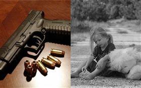 女童,女孩,槍枝,子彈,槍(圖/翻攝自pixabay)