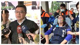 民進黨主席卓榮泰,國民黨立委陳玉珍。(組合圖/資料照)