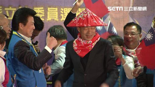 吳敦義,韓國瑜,客家造勢