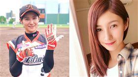 ▲史上最正女子職棒球員加藤優引退後仍高喊想打球。(圖/翻攝自Instagram)