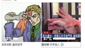 ▲館長在臉書辦投票,沒想到有高達87%的網友,都支持「全台灣最會夾手的女人…黃昭順」(圖/翻攝飆捍臉書)