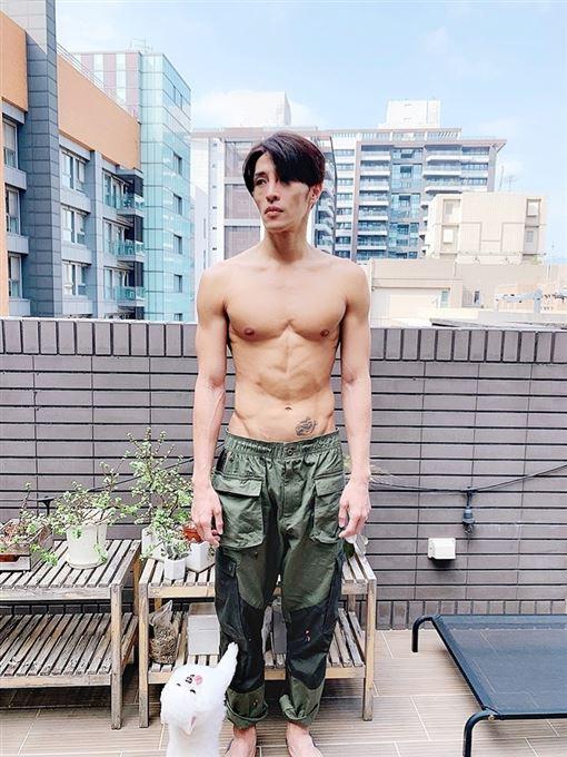(凱渥提供)男星陳禕倫為新戲連最愛的重訓都放棄