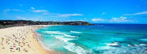 ▲迎向陽光大海,體驗各種精彩活動。圖為邦迪海灘。(圖/shutterstock.com)