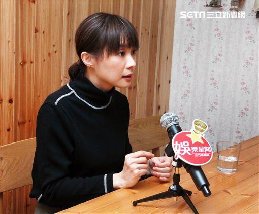 鄭宜農三立新聞網專訪。(記者邱榮吉/攝影)