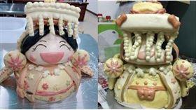 網友訂購笑嗨嗨媽祖造型饅頭 圖/翻攝自爆怨公社