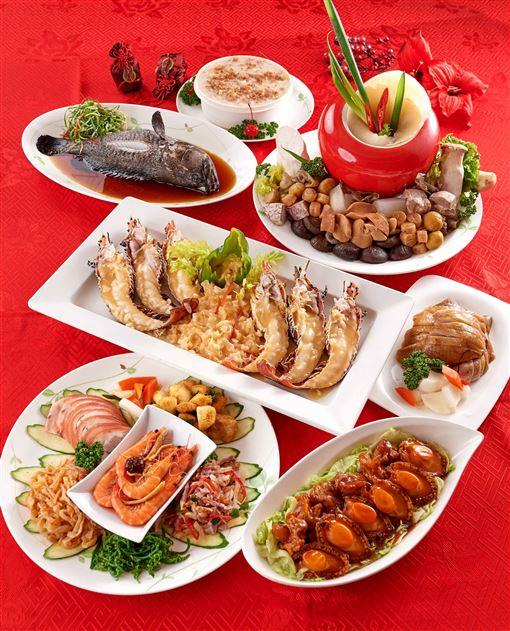 ▲年菜(圖/台北福華提供)
