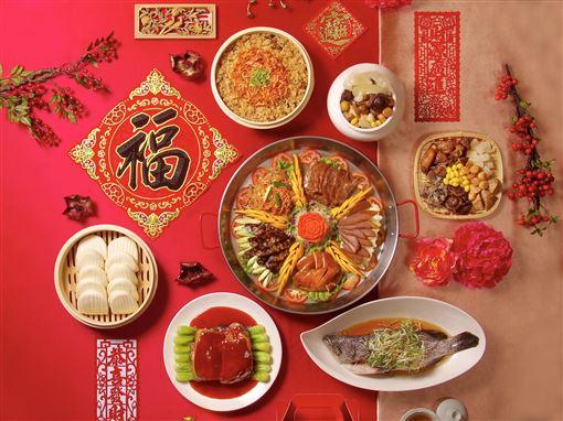 ▲年菜(圖/台北天成大飯店提供)