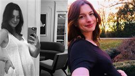安海瑟薇(Anne Hathaway)/懷孕/。IG