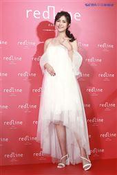 任容萱出席RedLine品牌記者會。(圖/記者林士傑攝影)