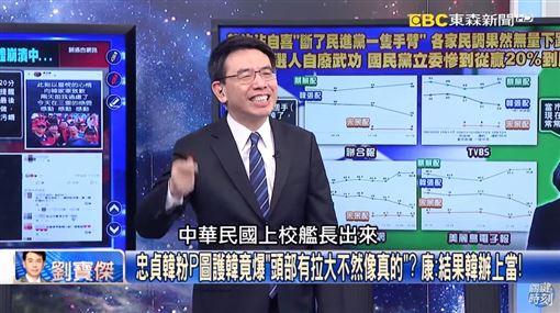 海軍艦長P圖韓國瑜 劉寶傑笑哭:這人捍衛海疆我命真大!圖翻攝自YouTube