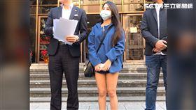 ▲前17直播主「香妃」提告馮姓經紀人,毀了她的生活和事業,還反要她賠20萬。(圖/記者楊佩琪攝)