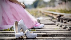 結婚,婚禮,婚紗,高跟鞋,婚鞋 示意圖/翻攝自Pixabay