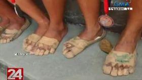 女孩膠帶鞋2400