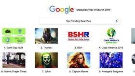 Google馬國年度關鍵字。(圖/翻攝自推特)