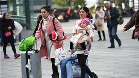 中國春運火車票開售中國大陸2020年春運火車票12日開始預售,全國鐵路預計發送旅客4.4億人次。圖為12月5日重慶北站廣場上的旅客。(中新社提供)中央社記者周慧盈北京傳真 108年12月12日