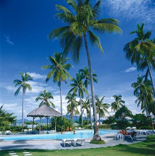 ▲Dos Palmas Resort一島一飯店(圖/菲律賓觀光部)