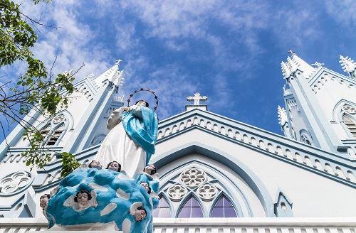 ▲巴拉望教堂異國建築風(圖/shutterstock.com)