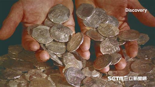 沉睡400年 海上「西班牙銀行」失落的神秘寶藏現蹤加勒比海 圖/Discovery提供