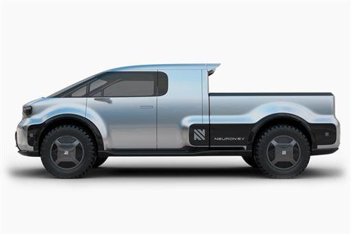 ▲Neuron EV電動概念皮卡T.One。(圖/翻攝網站)