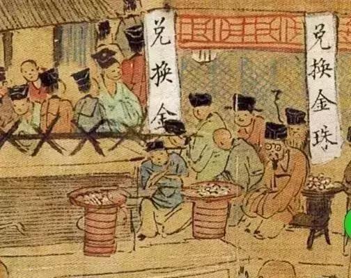 明朝畫家仇英畫了一幅《南都繁會圖》,裡頭有老人家戴眼鏡。