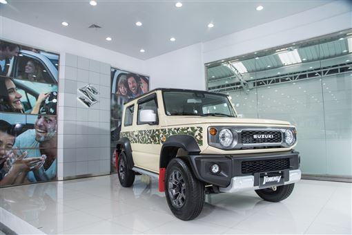 ▲加裝各式日本原裝配件打造的Jimny特仕車。(圖/Suzuki提供)