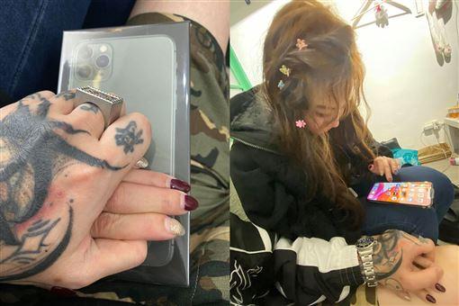 謝和弦,莉婭,小三,新手機(翻攝自臉書)