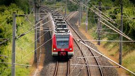 火車,高壓電,電線(圖/Pixabay)