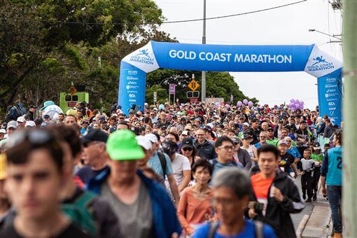 ▲昆士蘭黃金海岸馬拉松將於20200704-05登場(圖/昆士蘭旅遊及活動推廣局)