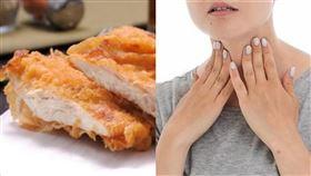 吃雞排長喉結? 圖/PIXABAY 臉書