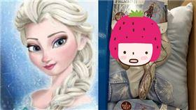 好市多,冰雪奇緣,周邊商品,立體毯,艾莎,Elsa,崩壞,惡夢
