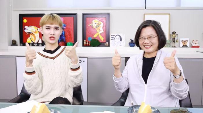 蔡英文鍾明軒影片「飆百萬觀看」!中港網友:台灣人很幸福