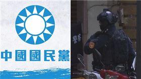 國民黨,台南炸彈(圖/翻攝臉書、資料照)