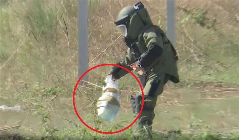 高雄炸彈客真有「撒旦之母」 空地挖坑引爆!現場震撼攝人
