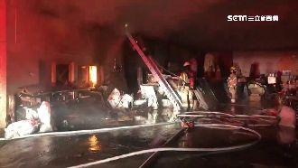 佛堂暗夜惡火奪7命 消防員摔落受傷